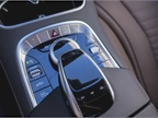 The center console features the Comand infotainment system s