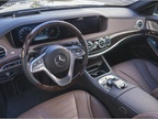 Active Steering Assist helps the driver keep the S450 centered in the