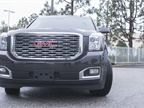 The 2018 Yukon Denali s gets a new, more sculpted grille.