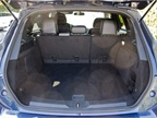 The MKC offers 25.2 cubic feet of cargo area with the seats in the