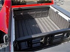 The bed includes configurable cargo spacing.