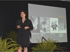 Sheryl Connelly, futurist with Ford, provided the closing keynote