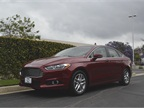The Fusion, which was fully redesigned for the 2013 model year, offers four four-cylinder engine choices.