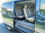 The NV3500 passenger van offers leather-appointed seating for 12,