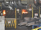 The forge, like other systems in the Decherd Powertrain Plant, is