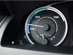 This instrument gauge shows drivers which of the three modes they are
