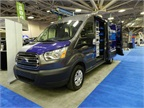 Leggett & Platt gave a preview of a Ford Transit upfit.