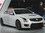 The 2016 Cadillac ATS-V has 455 horsepower and 445 lb.-ft. of torque.