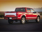 By extensively using aluminum, Ford is reducing the curb wieght by
