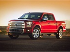 Ford will offer five trim levels, including the XL, XLT, Lariat,