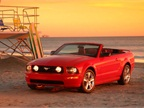 The 2005 Mustang was offered in a convertible version.