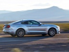 The 2015 Mustang rides on a lower, wider base.