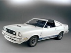 The 1976 Mustang II King Cobra was offered only with a V-8 to bolster
