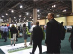 As the 70,000 sq.-ft. exhibit hall opened, the more than 600 attendees