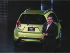 The Chevrolet Spark is designed for urban driving.