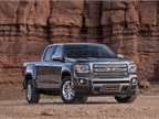The Canyon offers a 2.5L inline four or 3.6L V-6 engine.