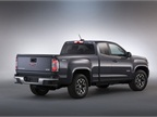 The Canyon arrives in extended and crew cab body styles.