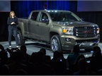 Newly appointed CEO Mary Barra said the Canyon and Colorado will help