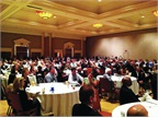The IARA opening breakfast was standing-room only for the keynote address by Manheim President Sandy Schwartz.