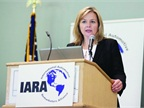Melinda Zabritski, senior director of Experian Automotive, presents