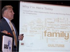 Mike Pitcher, president and CEO of LeasePlan USA, was the