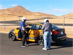 Hot laps in a BMW M3