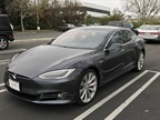 The Model S is 196 inches long, 86.2 inches wide, and has a wheelbase