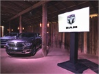 The product demonstration included a presentation on the Ram 1500 cab,