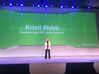 Kristi Webb, president and CEO, North America for the Element