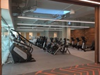 There is a 20,000-square-foot, two-story gym and wellness center for