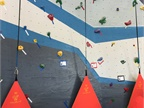 The Toyota gym also features a 36-feet high rock Wall to climb.