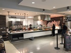 One of the many specialized food stations available at Toyota. The