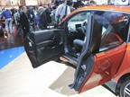 The i3 offers suicide doors as a design flourish. The vehicle retains