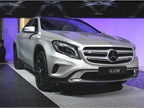 Mercedes-Benz will begin producing the GLA250 for the 2015 model year.