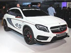 Mercedes-Benz GLA45 AMG concept showed a performance version of the