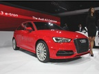 The Audi A3 Sportback e-Tron gasoline electric plug-in hybrid will be