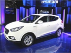 Hyundai will begin offering its 2015 Tucson Fuel Cell vehicle in the