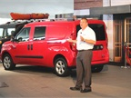Bob Hegbloom, director of the Ram Truck brand, said the compact van