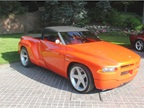 The 1997 Dodge Sidewinder Concept roadster pickup was designed by Mark