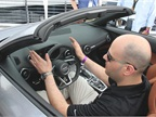 Anthony Garbis, an Audi product planner, discusses the TT s features.