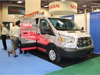 The Auto Truck Group gave a Ford Transit a full makeover, including a