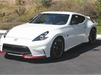 The 2016 Nissan 370Z Nismo Tech 6M/T is powered by a 3.7L V-6 that