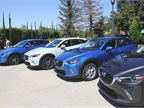 Mazda hosted a press event in Southern California to unveil the vehicle, which goes on sale in August.