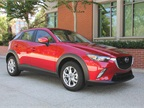 The CX-3 is powered by a 2.0-liter four-cylinder paired with a 6-speed