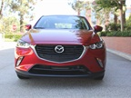 The CX-3 is available in front-wheel or all-wheel drivetrains. This