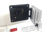 A 240-volt (Level 2) charging port enables a full charge from zero in