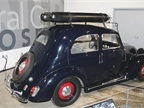 This 1939 Fiat 508C Balilla is the first CNG-powered car. It could