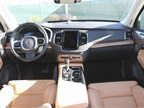 The XC90 uses Nappa leather and other high-quality materials in the