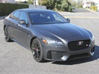The XF is a mid-size luxury sport sedan.