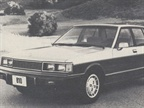 The Datsun 810 Maxima four-door sedan is all new for 1981 and features